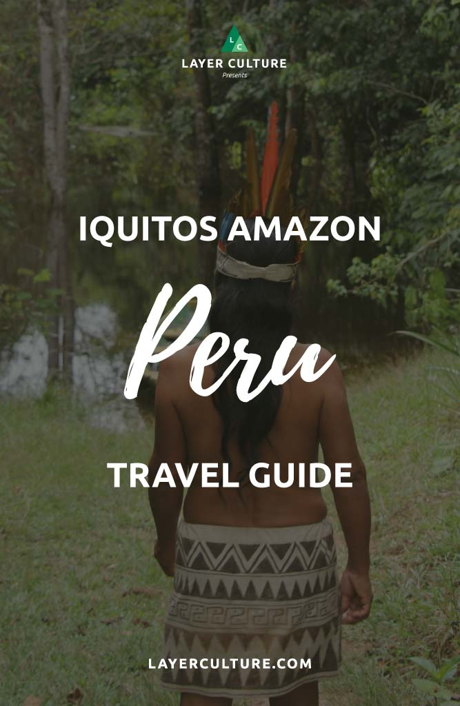 iquitos travel guide pin