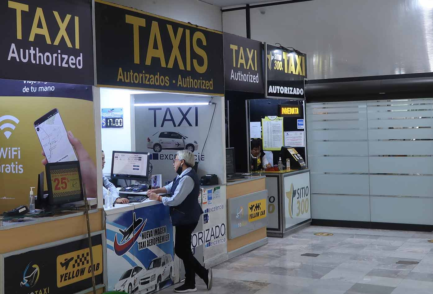 mexico city airport taxi