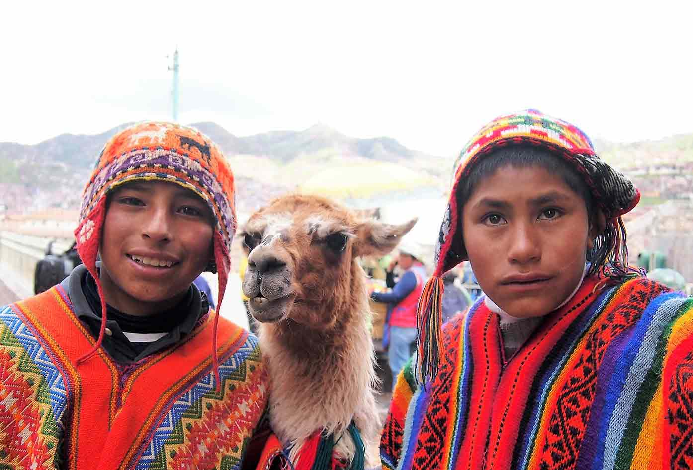 people of peru