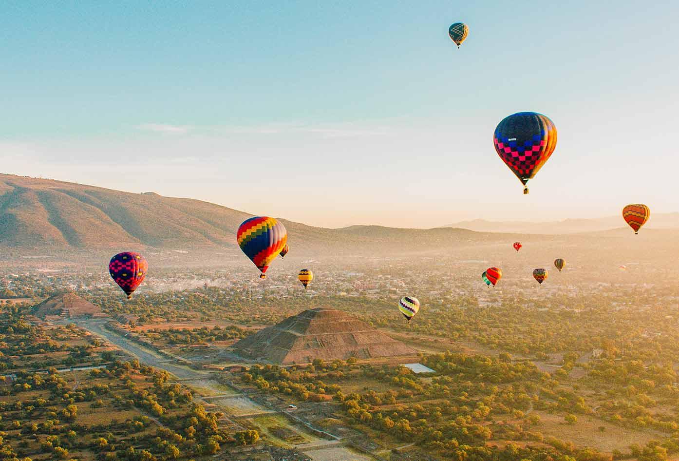 balloon tour mexico city