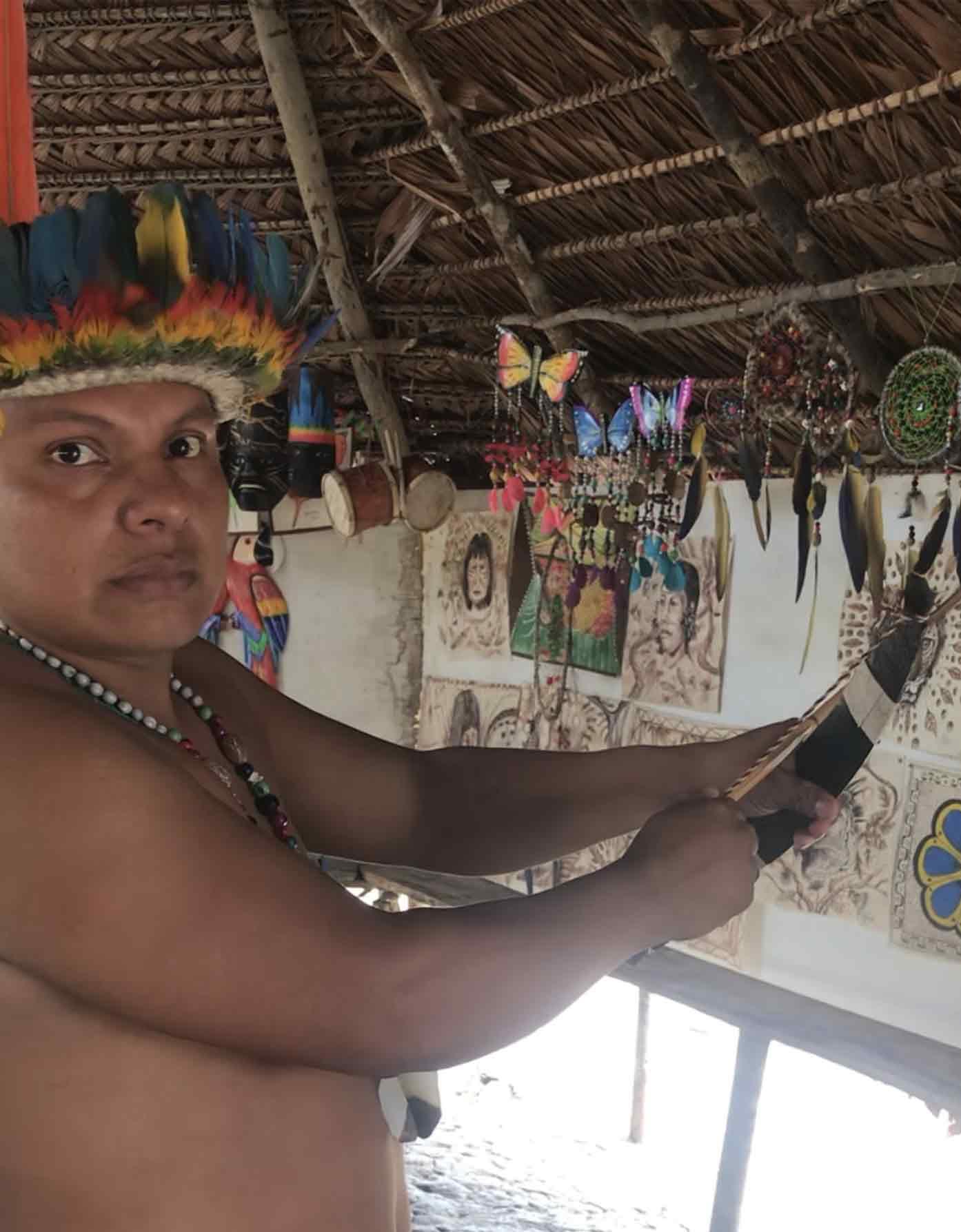 indigenous leader